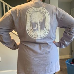 Long Sleeve Clemson University Tee